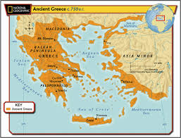 Greece Islands Map by Maps Of Ancient Greece 6th Grade Social Studies