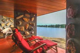 Houzz Home Design Inc Indeed by A Home On A Private Island That U0027s Based On A Frank Lloyd Wright