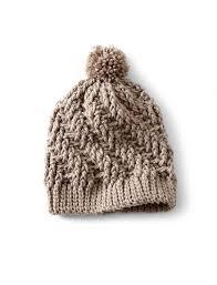 bernat stepping texture hat crochet pattern yarnspirations