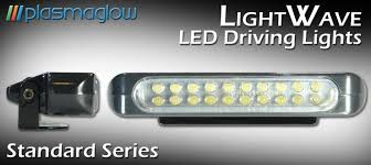 Led Driving Lights Automotive Lightwave Led Driving Lights By Plasmaglow Plasmaglow