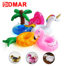 classic unicorn ring holder images Dmar mini inflatable flamingo unicorn donut pool float toys drink jpg