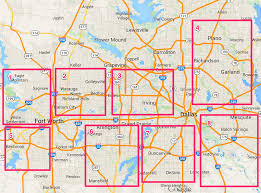 Map Of Dallas Suburbs by Fort Worth Rental Investment