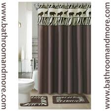 Cheetah Print Curtains by Animal Print Shower Curtain Home Design