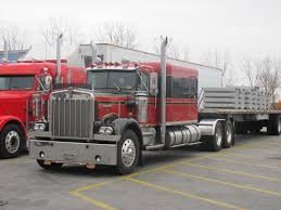 kenworth chrome accessories canada old kenworth w900a with double eagle sleeper customized