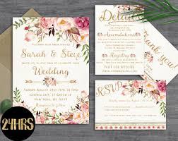 wedding invites etsy stephenanuno