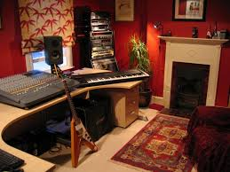 Home Recording Studio Design Home Recording Studio With Fireplace Theydesign Recording Inside