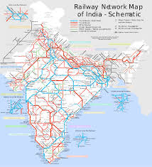 A Train Map File India Railway Schematic Map Svg Wikimedia Commons