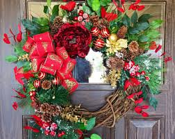 door wreaths and cemetery flowers vases by wreathsbytrina
