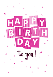 design your own happy birthday cards happy birthday confetti birthday card you can print or send as