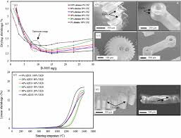 net shape manufacturing of ceramic micro parts with tailored