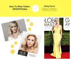 hair you wear the best shades of yellow to wear according to your hair color