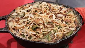 green bean casserole recipe alton brown recipe abc news