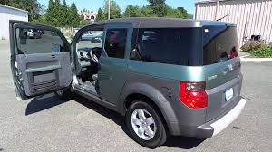 2014 Honda Element 2004 Honda Element Green Stock 13741p Walk Around Youtube