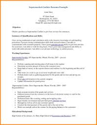 Resume Sample For Cashier At A Supermarket by 11 Summer Job Resume Reporter Resume