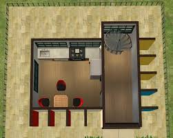 mod the sims 1x1 mini lots mini modern starter home