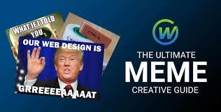 Meme Guide - the ultimate meme creative marketing guide webaholics