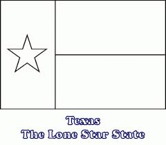Texas State Flag Image Texas Flag Coloring Page Printable Coloring Image