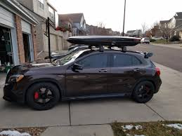 Subaru Wrx Roof Rack by Glad I Got The Roof Racks Skis Page 2 Mercedes Gla Forum