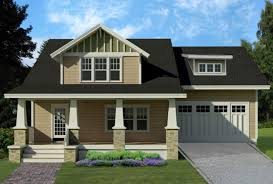 two story craftsman house plans plan 461 39 houseplans like that the garage is set back from