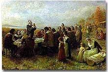 william bradford and the thanksgiving ushistory org