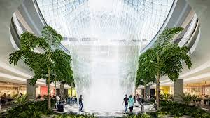 Indoor Spice Garden by How To Fit The World U0027s Biggest Indoor Waterfall In An Airport Wired