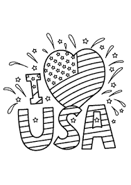Usa Coloring Pages I Love Usa Coloring Pages July 4 Independence Day Coloring Pages by Usa Coloring Pages