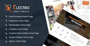 electric v1 0 u2013 multipurpose html site template free download