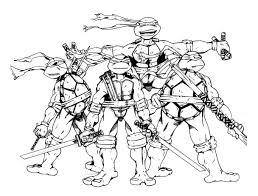 tortues ninja 12 super héros u2013 coloriages à imprimer