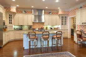Wallpaper Designs For Kitchen Country Kitchen Wallpaper Padve Club