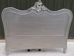 shabby chic french style antique silver kingsize bed headboard 180 x