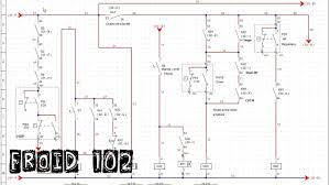 schema electrique chambre froid102 montage 3 réarmement automatique chaine de sécurité suite