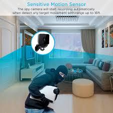 Small Cameras For Home Mini Surveillance Camera Conbrov T33 1080p Hd Portable Video