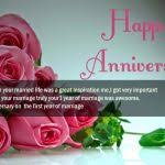 1st Anniversary Wishes Messages For Wife Happy Anniversary Wishes Sms Anniversary Quotes Message