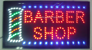 wholesale 2016 sale direct selling led barber shop signs