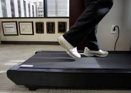 Treadmill Desk Weight Loss Treadmill Lets Texas Medical Center Doctor Practice What He