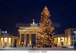 Decorative Christmas Tree Gate by Brandenburg Gate In Berlin Christmas Stock Photos U0026 Brandenburg