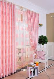 heart patterned dreamy acoustical unique window curtains