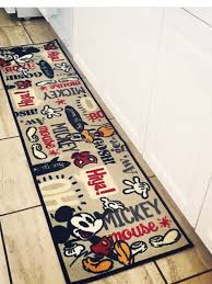 Mickey Mouse Rugs Carpets I Would Use This As My Disney Kitchen Runner Love It Disney