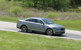 2013 ford taurus sho performance package first test motor trend
