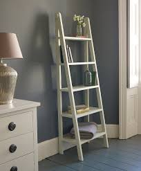Ladder Bookcase White by Leaning Ladder Bookcase White Roselawnlutheran