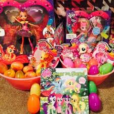 my pony easter basket my pony easter plush basket with 6 my pony easter