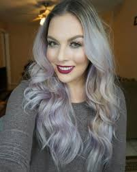high lighted hair with gray roots 78 grey hairstyles to try for a hot new look
