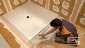 how to install a shower r schluter kerdi shower sr