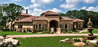 Austin Houses by Lakeway Texas Tuscan Front Elevation By Zbranek U0026 Holt Custom