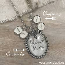 name charms ivory lace custom glass oval pendant necklace with optional name