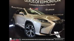 lexus sport 4 door new 2017 tan on parchment lexus rx 350 awd executive package