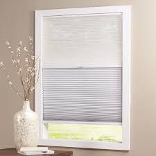 Home Decorators Blinds Parts Home Decorators Collection Sheer White Shadow White 9 16 In