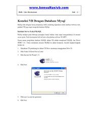 cara membuat koneksi database mysql menggunakan odbc 1526276966 v 1
