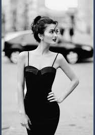 dress black classic beautiful gorgeous black and white b u0026w