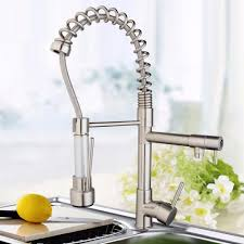 compare prices on double outlet kitchen pull faucet online